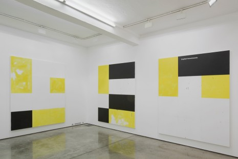 Group show, Gardar Eide Einarsson and Oscar Tuazon, Maureen Paley