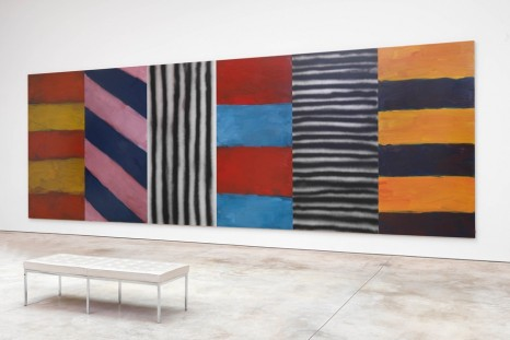 Sean Scully, Wall of Light Cubed, Cheim & Read