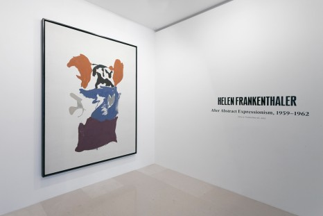 Helen Frankenthaler, After Abstract Expressionism, 1959–1962, Gagosian