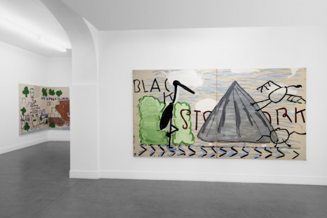 Rose Wylie, Yellow Sax, Brand New Gallery