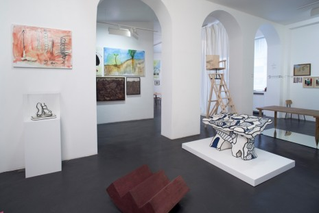 Group show, hyberDUBUFFET, Galerie Nathalie Obadia
