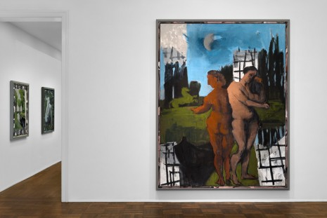 Markus Lüpertz, New Paintings, Michael Werner