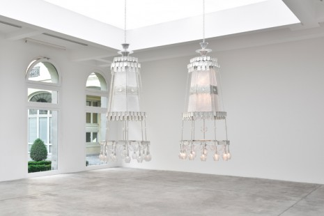 Cerith Wyn Evans, As If, Seeing In The Manner Of Listening…Hearing, As If Looking, Marian Goodman Gallery