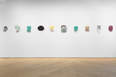 Nicole Eisenman, Faces: Painted Reliefs, Anton Kern Gallery
