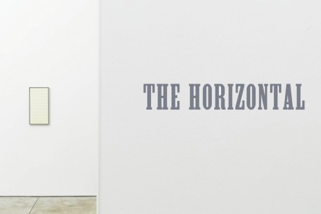 Group show, The Horizontal, Cheim & Read