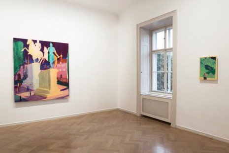 Jules De Balincourt, We Come Together At Night, Galerie Thaddaeus Ropac