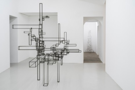Antony Gormley, Co-ordinate, Galleria Continua