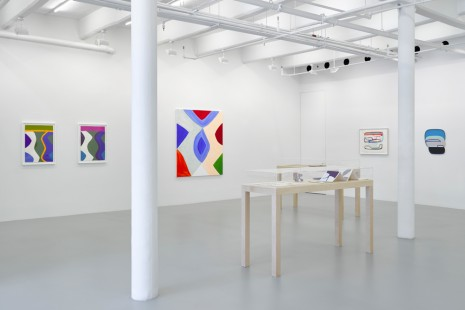 Marina Adams, Paul Feeley, Joanna Pousette-Dart, Leon Polk Smith, Aspects of Abstraction, Lisson Gallery