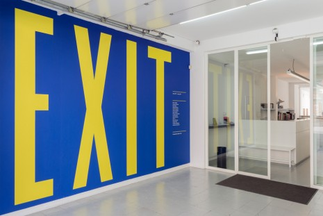 Group show, E X I T, rodolphe janssen