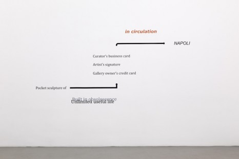 Fia Backström, Lucy Dodd, Rochelle Goldberg, Bethan Huws, Aislinn McNamara..., A boat is a floating piece of space, toward the Horizon, Alfonso Artiaco
