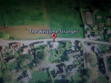 Mathew Hale, THE WELCOME STRANGER, Wentrup