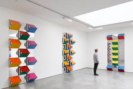 Daniel Buren, PILE UP: High Reliefs. Situated Works, Lisson Gallery