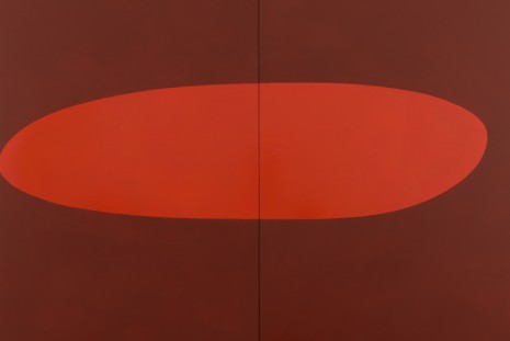 Suzan Frecon, recent oil paintings, David Zwirner