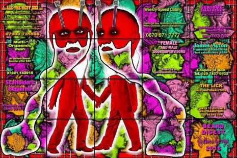 Gilbert & George, The Beard Pictures, Alfonso Artiaco
