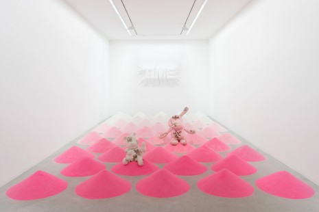 Daniel Arsham, The Angle of Repose, Perrotin