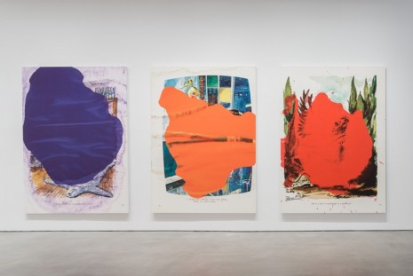 Richard Prince, Ripple Paintings, Gladstone Gallery