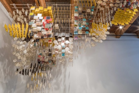 Jacob Hashimoto, The Dark Isn't The Thing To Worry About, Rhona Hoffman Gallery