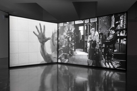 Douglas Gordon, back and forth and forth and back, Gagosian