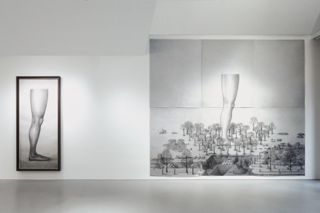 Paul Noble, New Works, Gagosian