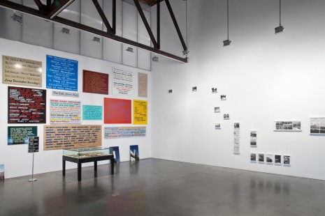 Hanne Darboven, Josephine Meckseper, Allen Ruppersberg, Alexandre Singh, Cultural Production, Andrea Rosen Gallery (closed)