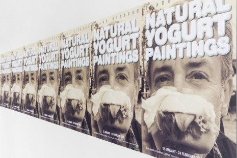 Frank Nitsche, Natural Yogurt Paintings , Pedro Cera