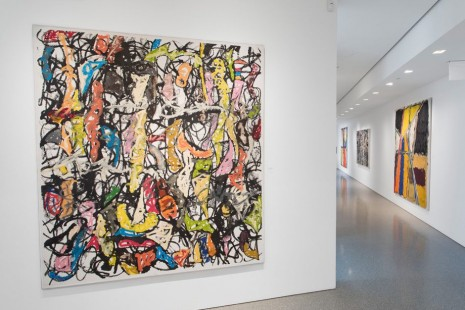 Michael Goldberg, End to End: The 1950s & 2000s, Michael Rosenfeld Gallery
