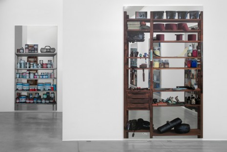 Michelangelo Pistoletto, Scaffali, Simon Lee Gallery
