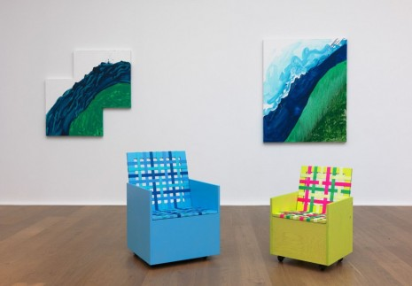 Mary Heilmann, Visions, Waves and Roads, Hauser & Wirth