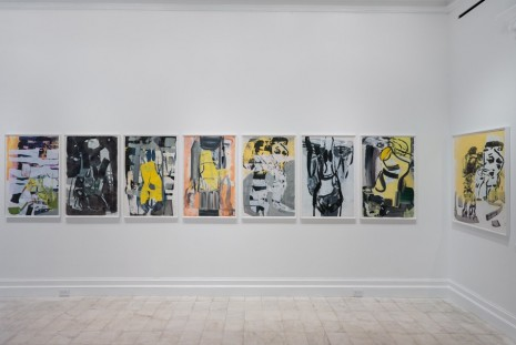 Amy Sillman, Mostly Drawing, Gladstone Gallery