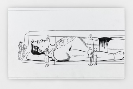 Jim Shaw, Drawings, Simon Lee Gallery