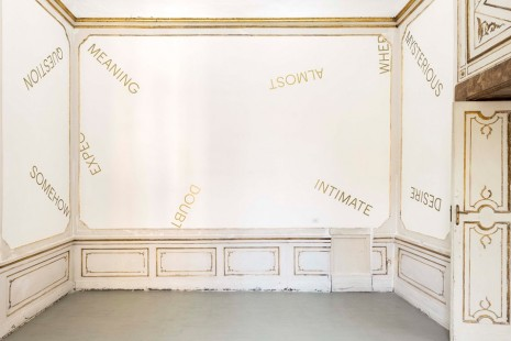Robert Barry, , Alfonso Artiaco