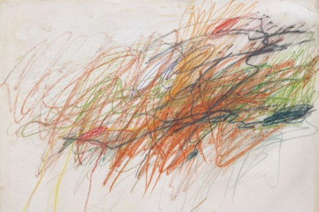 Cy Twombly, In Beauty It Is Finished: Drawings 1951–2008, Gagosian