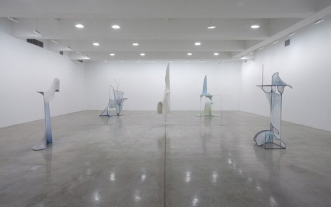 Charles Long, Minimal Surfaces_Ocean of Hours, Tanya Bonakdar Gallery