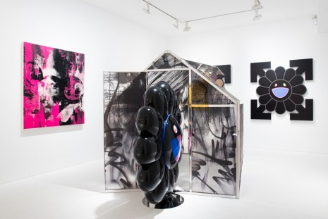Group show, future history, Gagosian