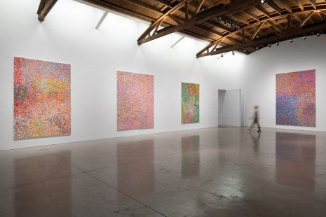 Damien Hirst, The Veil Paintings, Gagosian