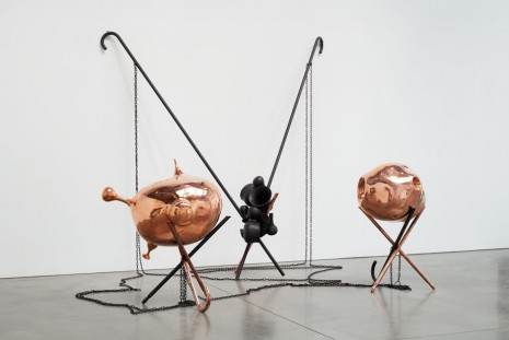 Janine Antoni, Tom Friedman, Roger Hiorns, Phillip King, Martin Kippenberger..., Sculpture, Luhring Augustine