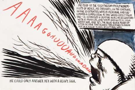 Raymond Pettibon, ... NO HUGS COMING, Contemporary Fine Arts - CFA