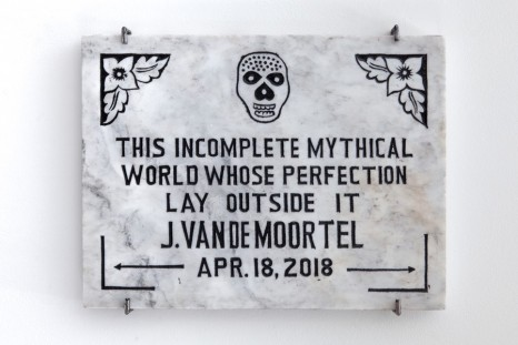 Joris Van de Moortel, This incomplete mythical world whose perfection lay outside it, Galerie Nathalie Obadia