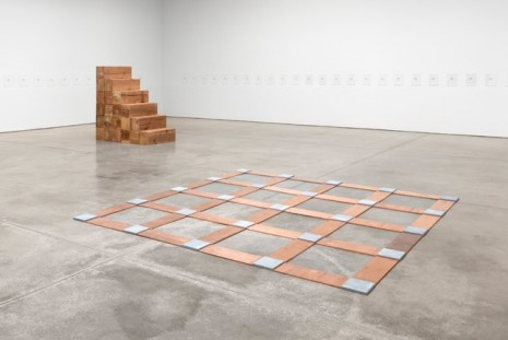 Group show, Carl Andre and Lynda Benglis, Paula Cooper Gallery