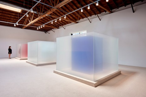 Larry Bell, Complete Cubes, Hauser & Wirth