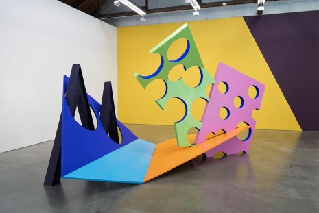 Phillip King, Color Space Place, Luhring Augustine