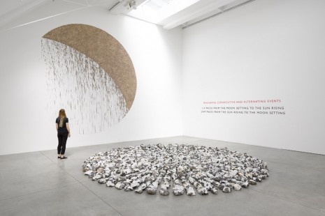 Richard Long, Circle to Circle, Lisson Gallery