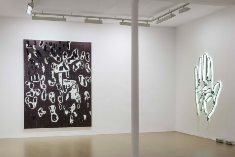 Glenn Ligon, Debris Field/Notes for a Poem on the Third World/Soleil Nègre, Galerie Chantal Crousel