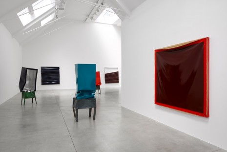 Angela de la Cruz, Bare, Lisson Gallery