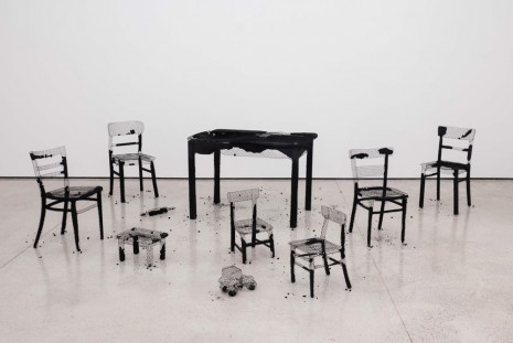 Mona Hatoum, Remains of the Day, White Cube