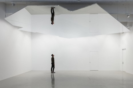 Mark Wallinger, Study for Self Reflection, Hauser & Wirth