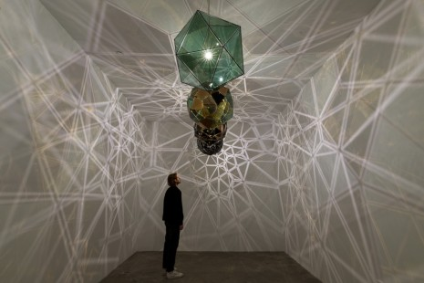 Olafur Eliasson, The speed of your attention, Tanya Bonakdar Gallery