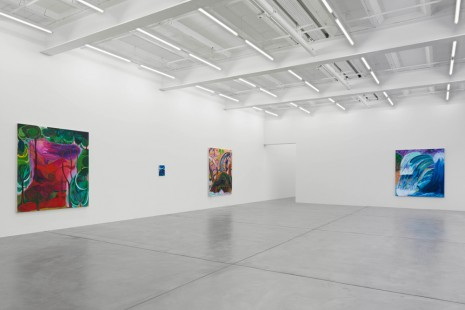 Shara Hughes, Don't hold your breath, Galerie Eva Presenhuber