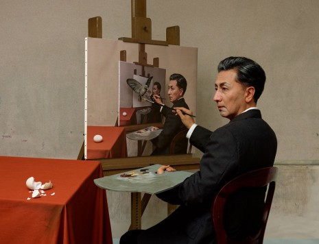 Yasumasa Morimura, In the Room of Art History, Luhring Augustine