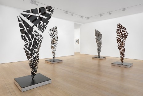 Conrad Shawcross, After the Explosion, Before the Collapse, Victoria Miro Gallery